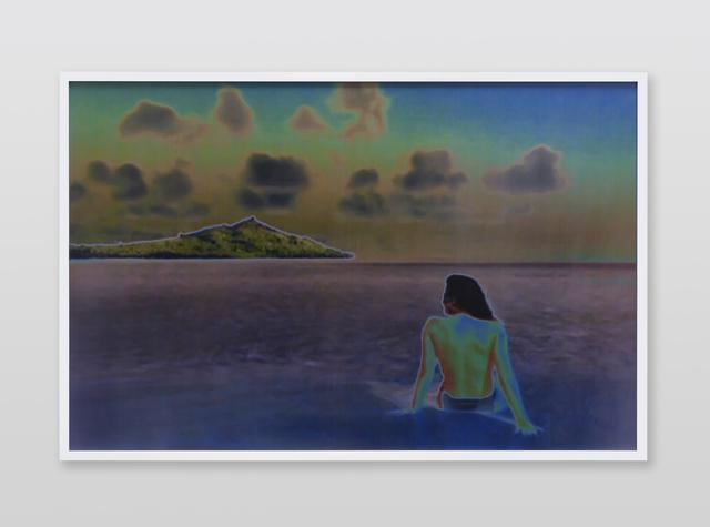 , 'Jennifer in Paradise, Stylize_Solarize, CS6 lenticular series,' 2015, Future Gallery