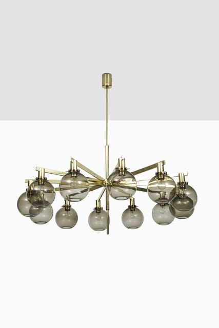 , 'Hans-Agne Jakobsson ceiling lamp model T-348/12,' ca. 1950, Studio Schalling