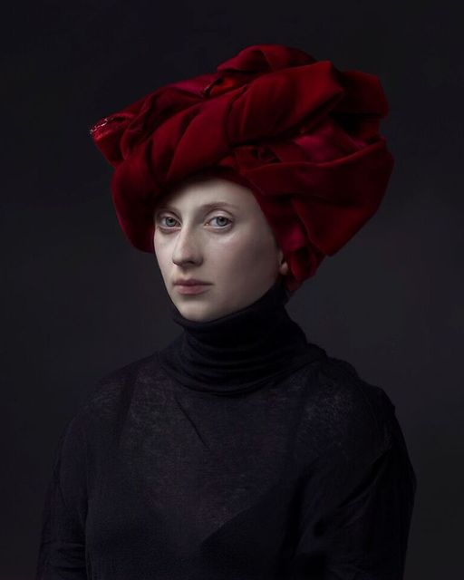 , 'Red Turban,' 2015, Jenkins Johnson Gallery