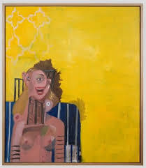 , 'Yellow Seated Woman,' 2006, Helwaser Gallery