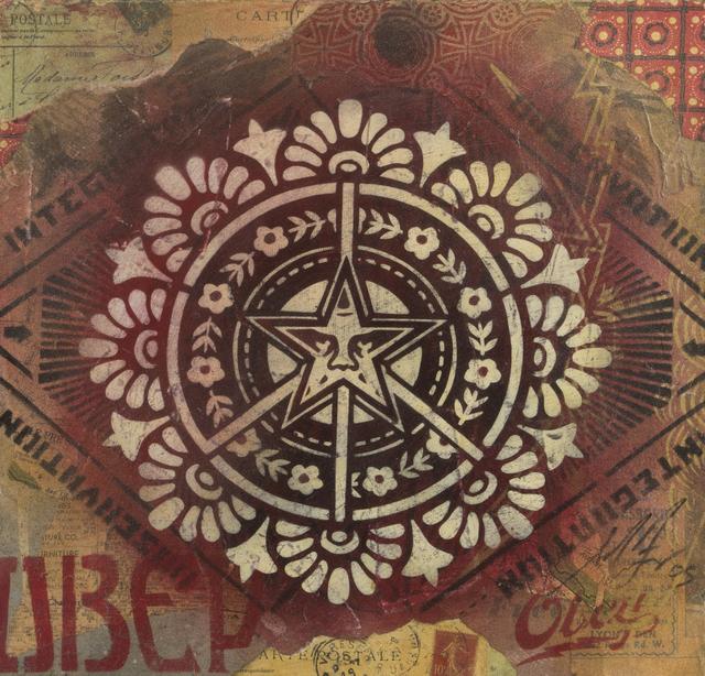 Shepard Fairey (OBEY), 'Peace', 2005, Julien's Auctions