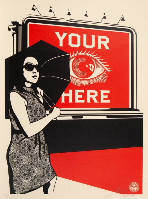 Shepard Fairey, 'Obey Billboard (Eye)', 2008, Heritage Auctions