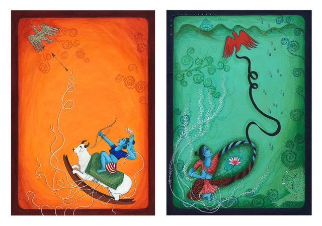 """, 'Finding Home #97 and #98: """"Trap and Release"""" ,' 2008, ACA Galleries"""
