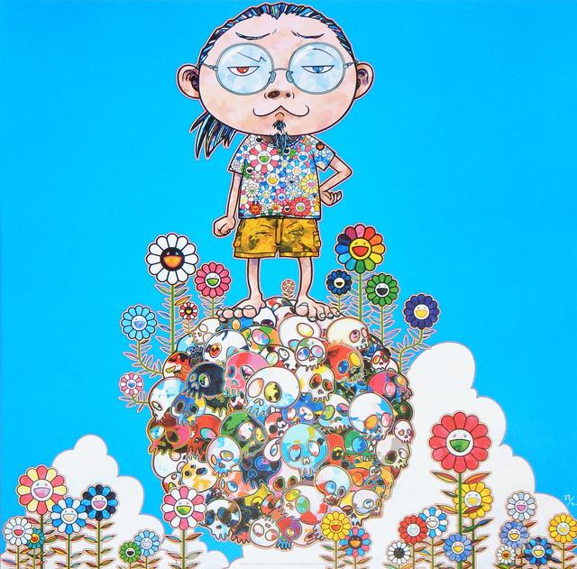 Takashi Murakami, 'Me Among The Supernatural', 2013, Upsilon Gallery