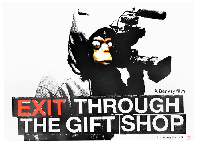 Banksy, 'EXIT THROUGH THE GIFT SHOP MOVIE THEATER POSTER (UK release)', 2010, Silverback Gallery