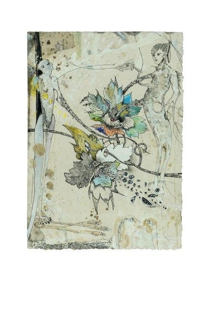 , 'Die Eisblumenzüchter XIV,' 2017, Galerie Commeter / Persiehl & Heine