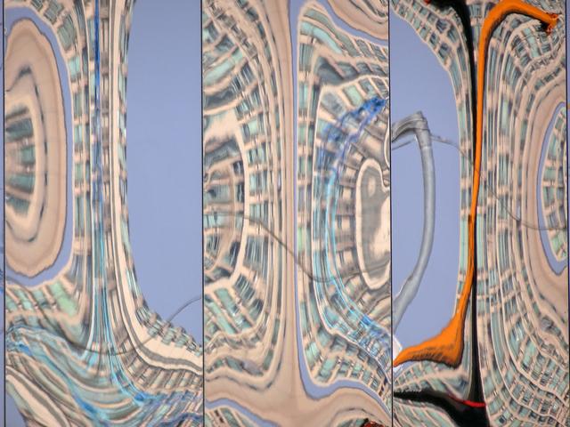, 'Blue, Beige & Orange #1,' 2016, Ben Brown Fine Arts