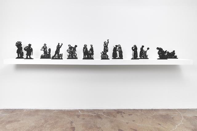 , 'Processione di Riparazioniste Maquettes,' 2018, Goodman Gallery
