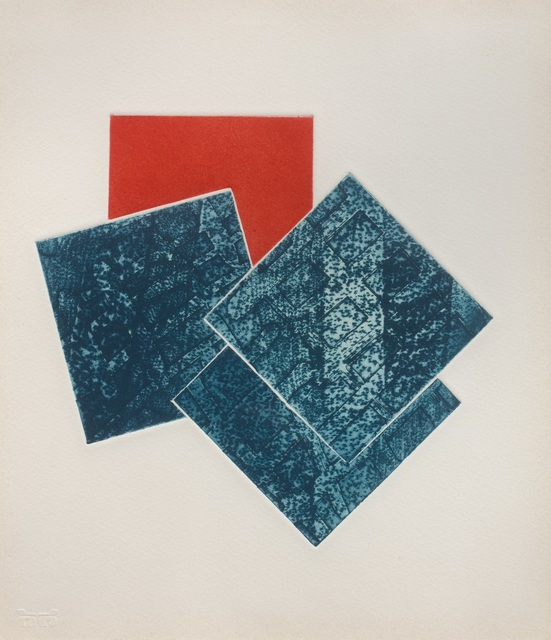 Stephen Buckley, 'Untitled (Small Etching J)', 1980, Joanna Bryant & Julian Page