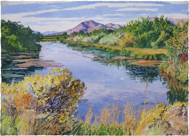 , 'A Balmy Day at Silver Creek,' , Gail Severn Gallery