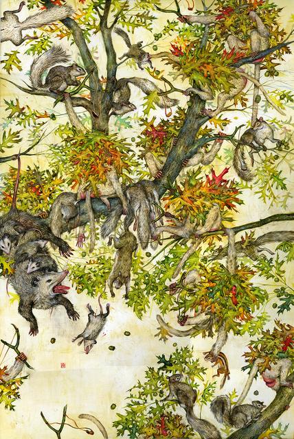 , 'Squirrels,' 2016, Gallery Poulsen