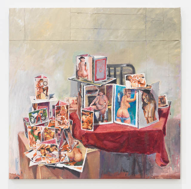 , 'Card House #4,' 2016, Diane Rosenstein