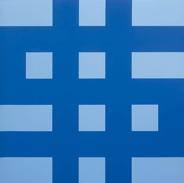 Olivier Mosset, 'Dollar (Bleu)', 1998, Artsnap