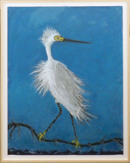 , 'Snowy Egret,' 2017, William Campbell Contemporary Art, Inc.