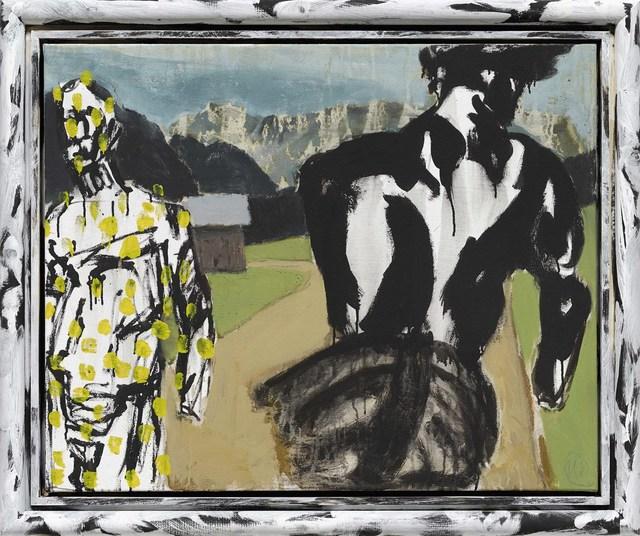 """, '""""Gelber Held (Heros)"""",' 2013, Michael Werner Gallery"""