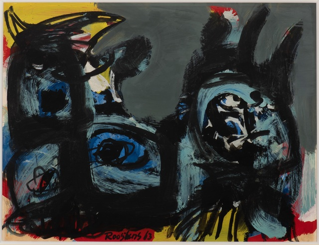 Anton Rooskens, 'Birds', 1963, Okker Art Gallery