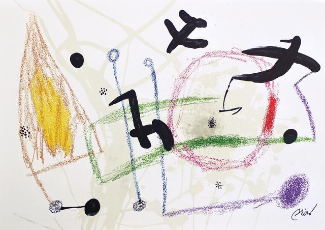 Joan Miró, 'Maravilla 5', 1975, Hans den Hollander Prints