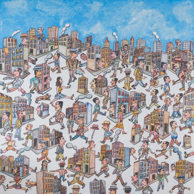 , 'Una Mañana Temprano,' 2014, Galerie Laurent Strouk