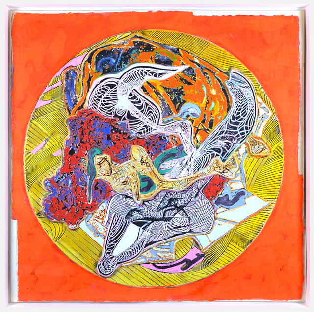 Frank Stella, 'Untitled', 1995, Mixed Media, Acrylic, resin, paper, and fiberglass mounted on board, Masterworks Fine Art