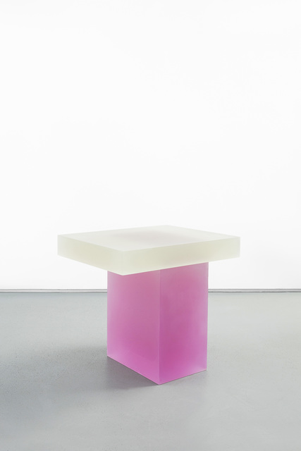 , 'Haze Stool (Yellow and Pink),' 2015, Carpenters Workshop Gallery