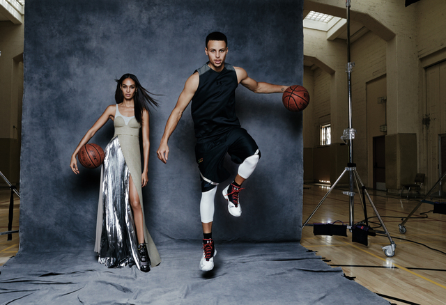 , 'Joan Smalls and Steph Curry, California, Vogue,' 2016, Staley-Wise Gallery