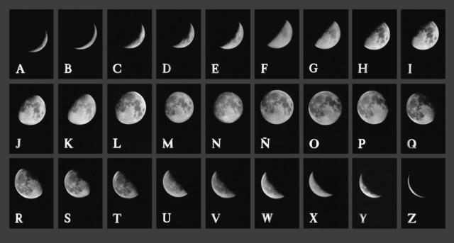 , 'Lunar Alphabet 1,' 1978, Herlitzka + Faria