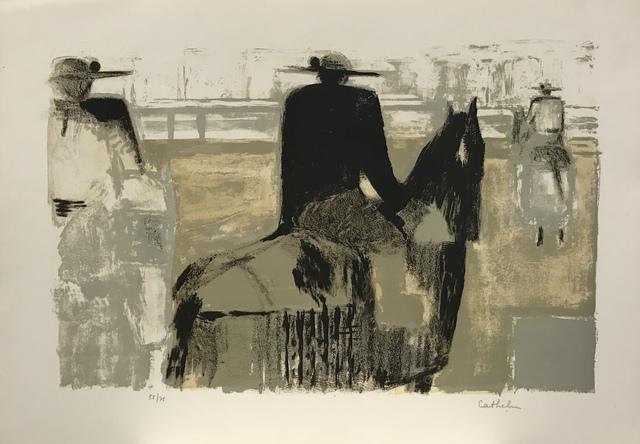 Bernard Cathelin, 'Les picadores', 1965, Artioli Findlay