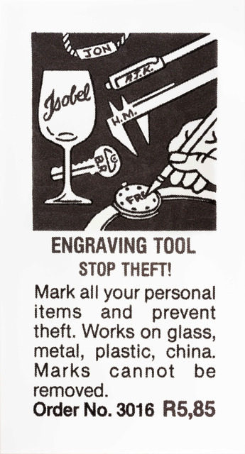 , 'Engraving Tool,' 2014, Goodman Gallery