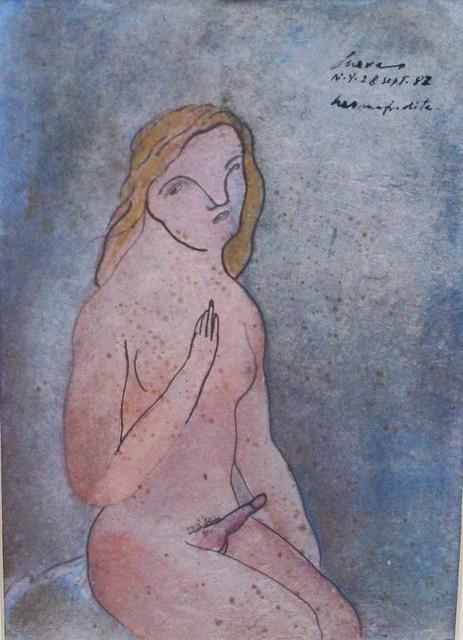 , 'Hermadrodita N.Y. 28 de Septiembre 1982,' 1982, Galeria Oscar Roman