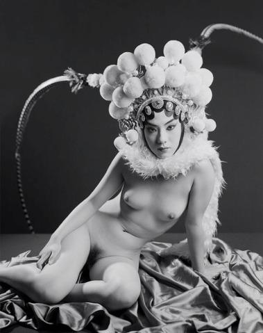 , 'A Woman with Beijing Opera Headdress,' 2008, Eli Klein Gallery