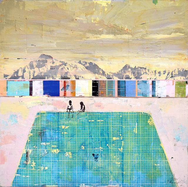 , 'Poolside II,' 2018, Adam Gallery