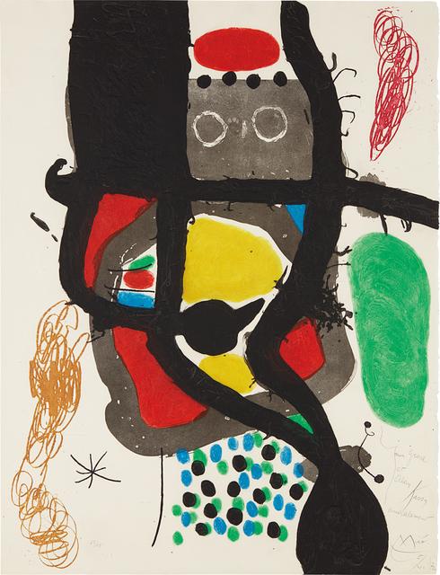 Joan Miró, 'Le Caissier (The Cashier)', 1969, Phillips