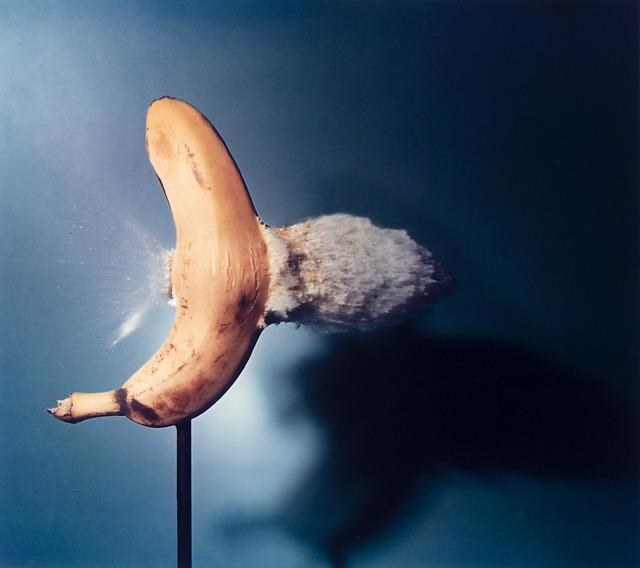 Dr. Harold Eugene Edgerton, 'Bullet Through Banana', 1964, Il Ponte