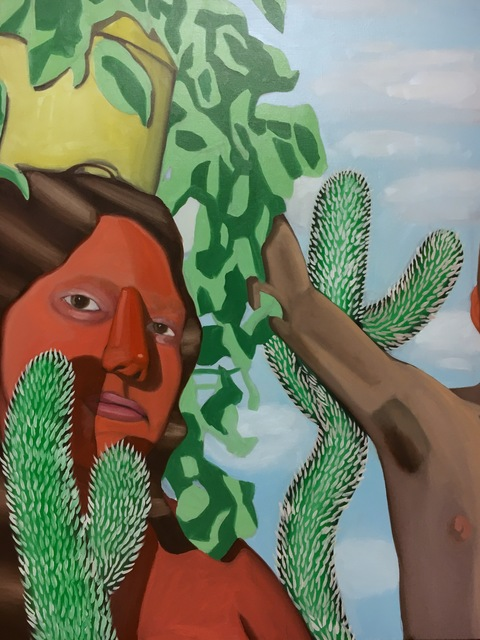 , 'Cacti,' 2017, ltd los angeles