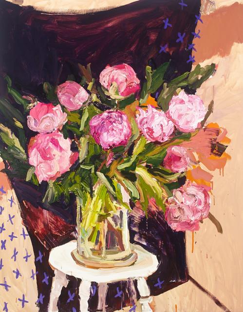 , 'Tall Peonies,' 2015, Olsen Irwin
