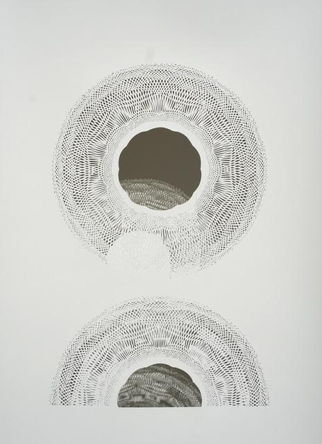 , 'Light Pouring On An Arc,' 2018, Joseph Gross Gallery