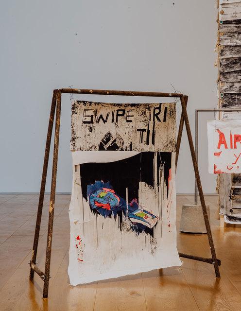 , 'Swipe,' 2018, Tiwani Contemporary