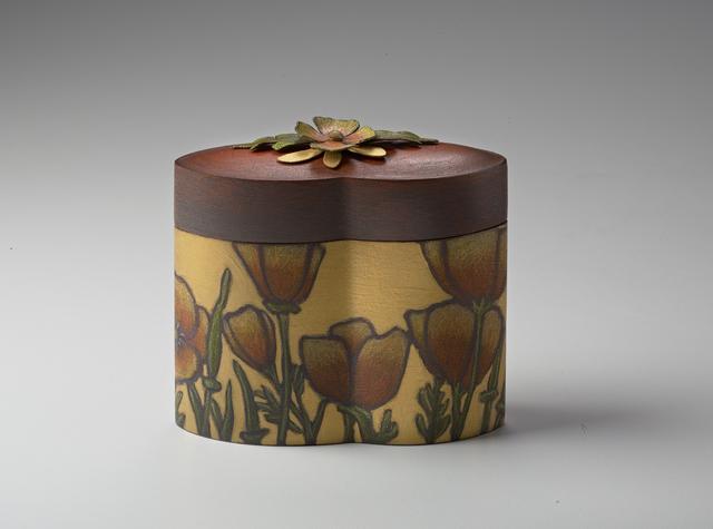 , 'Sister Box: California Poppy,' 2017, Mobilia Gallery