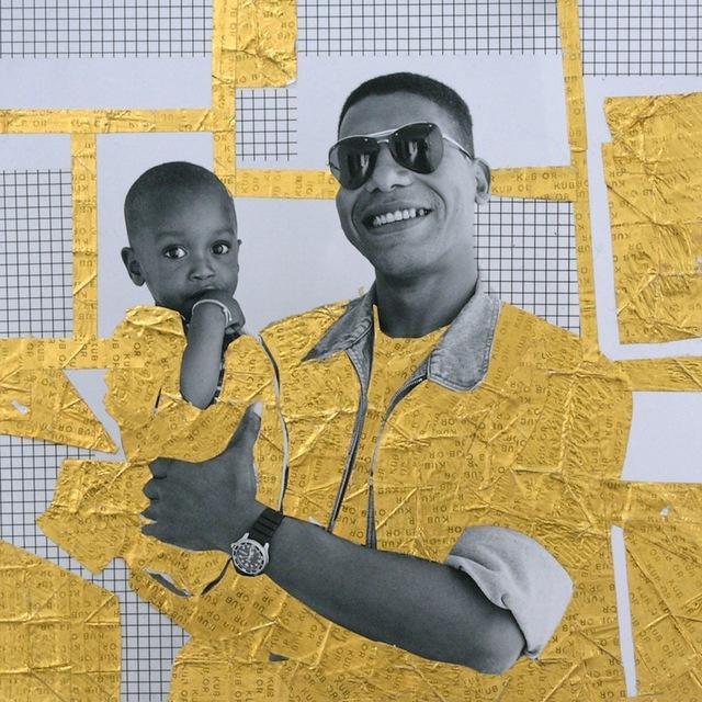 , 'Le vierge et l'enfant #2, Or serie,' 2013, Galerie Cécile Fakhoury - Abidjan