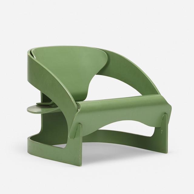 Joe Colombo, '4801 lounge chair', 1964, Rago/Wright