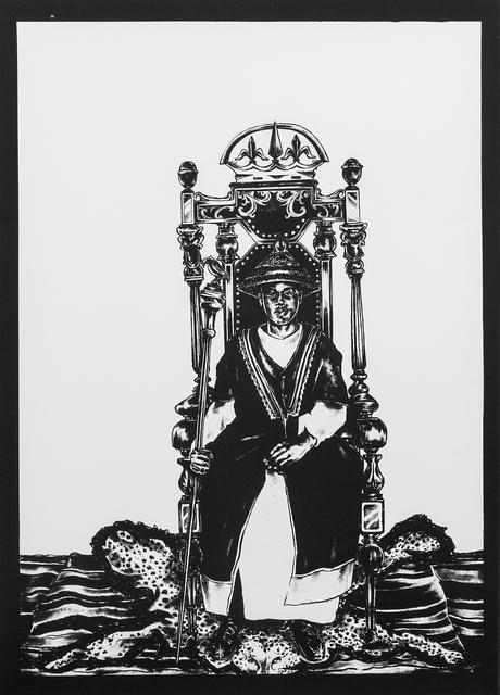 , 'Self as King Daudi Cwa II ,' 2016, Eclectica Galleries