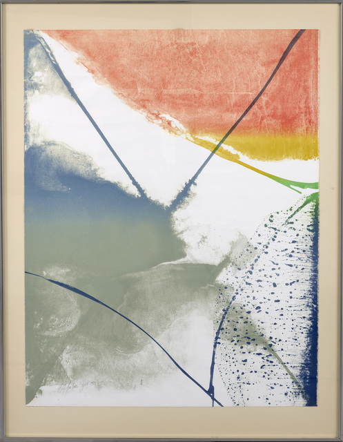 Paul Jenkins, 'Untitled', 1981, Print, Lithograph on paper, Berry Campbell Gallery