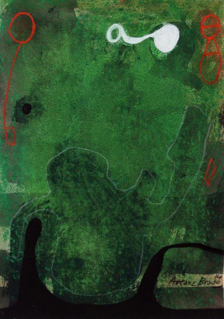 , 'Green-Green 4,' 2014, Matthew Liu Fine Arts