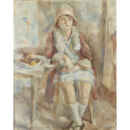 Jeune Fille au Café