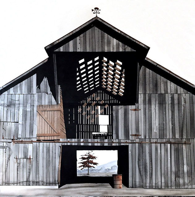 , 'Williamson County Barn III,' 2017, David Lusk Gallery