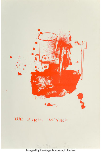 Jim Dine, 'The Paris Review', 1965, Heritage Auctions