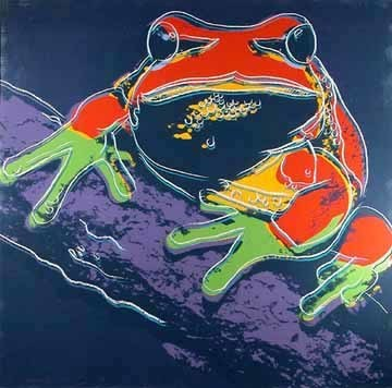 Andy Warhol, 'Pine Barrens Tree Frog (F&S.II.294)', 1983, Print, Screenprint in colors on Lenox Museum Board, Robin Rile Fine Art