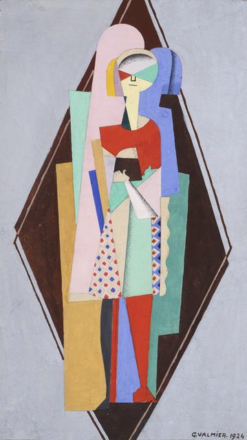 , 'Fillette debout,' 1924, Galerie Zlotowski