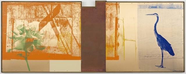Robert Rauschenberg, 'Bird Watch (Borealis)', 1988, Acrylic on bronze and copper, Robert Rauschenberg Foundation