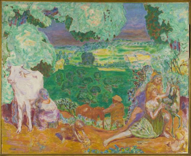 , 'La Symphonie pastorale (The Pastoral Symphony) ,' 1916-1920, Musée d'Orsay